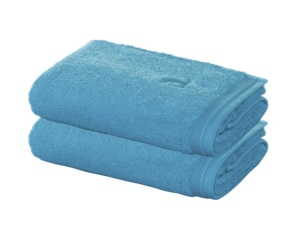 Abogeschenk Möve Handtücher im Doppelpack turquoise