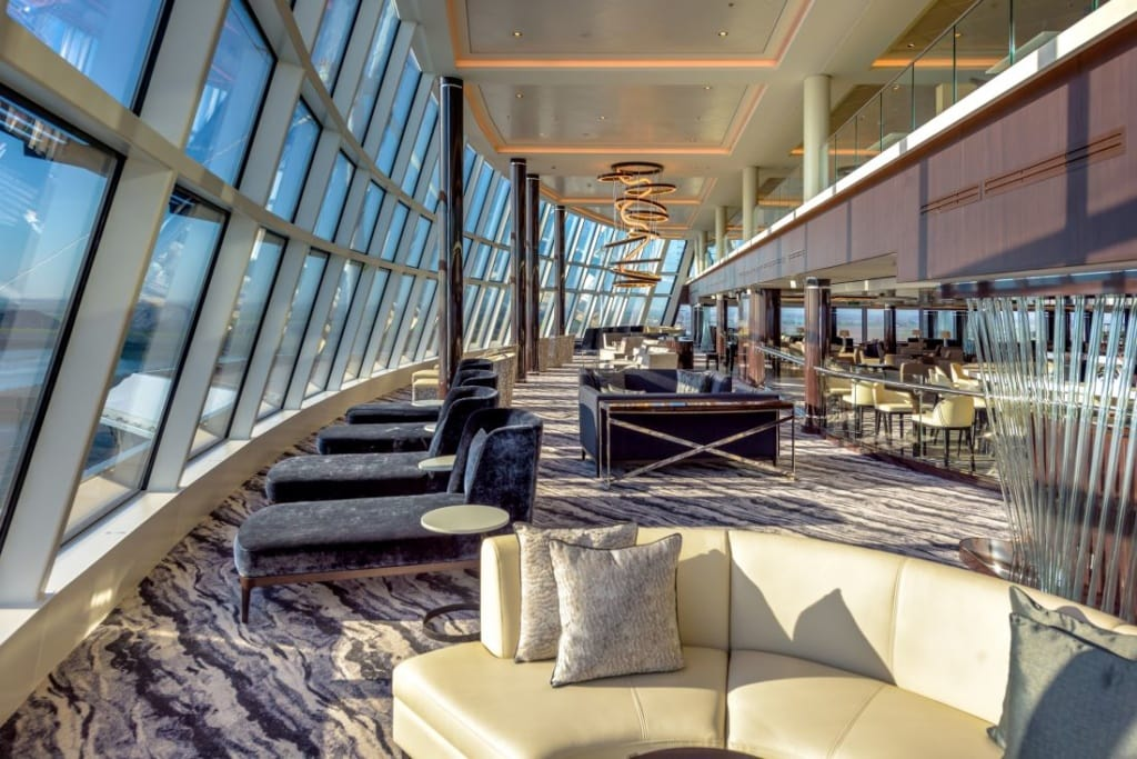 Observation Lounge auf der Norwegian Bliss