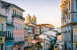 Pelourinho Viertel in Salvador da Bahia, Brasilien