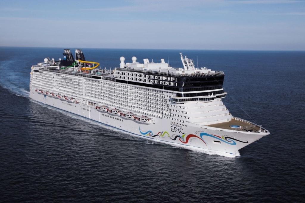 Norwegian Epic Starboard