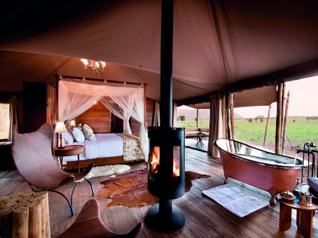 Das Aufstehen aus der gemütlichen Betten des One Nature Nyaruswiga Camps fällt nicht leicht, aber lohnt!