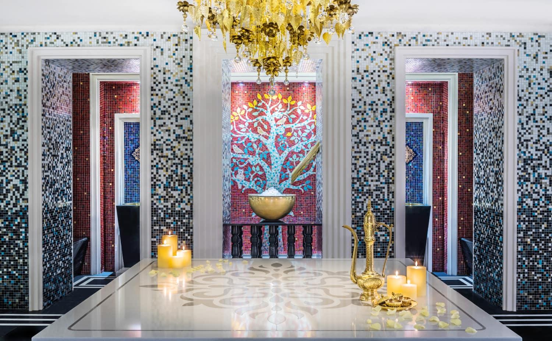 Buntes Luxus-Hammam