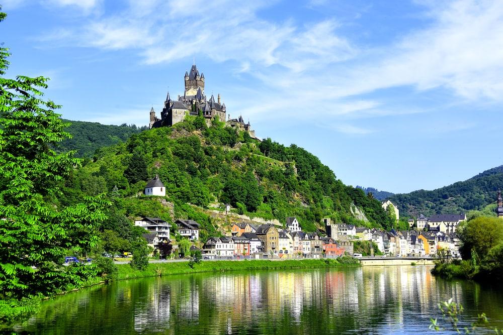 Die Reichsburg in Cochem an der Mosel