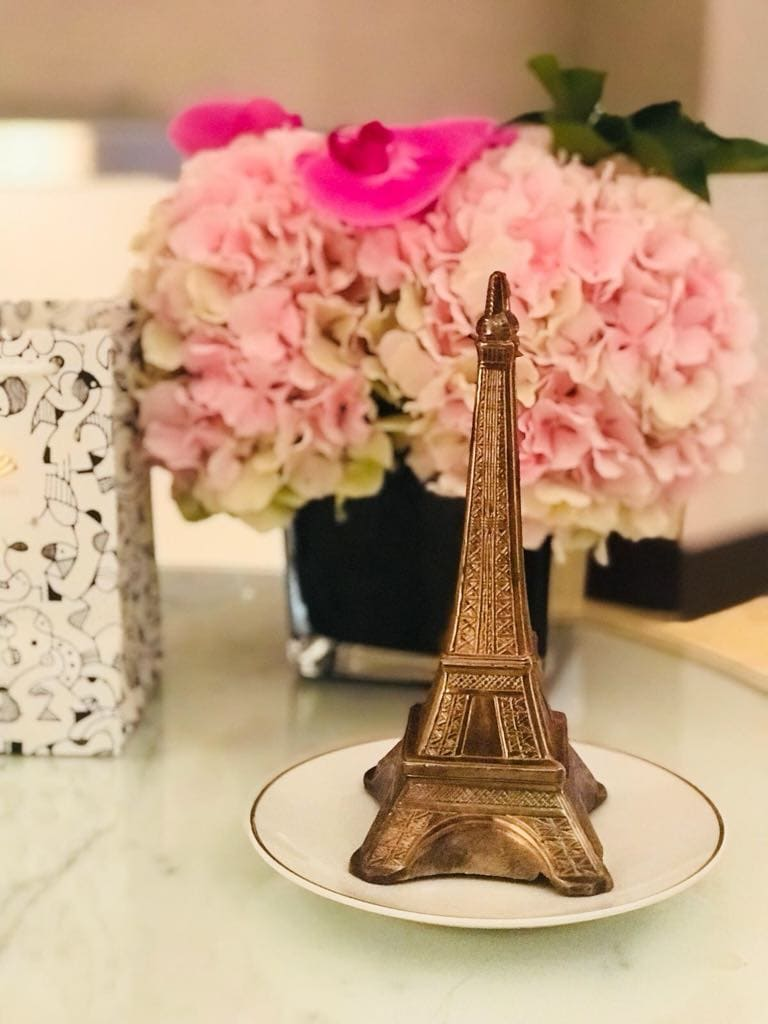 Eiffelturm aus Schokolade