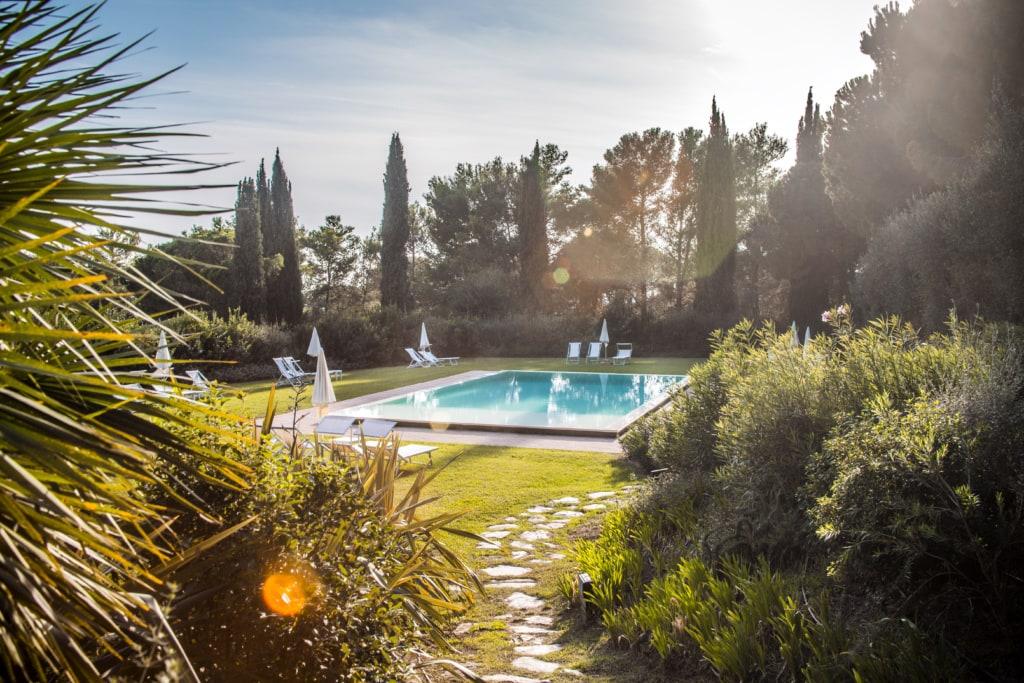 Pool im Fattoria di Magliano