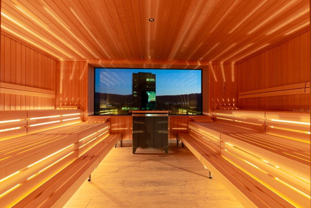 Finnische Sauna im a-ja-Resort Zürich