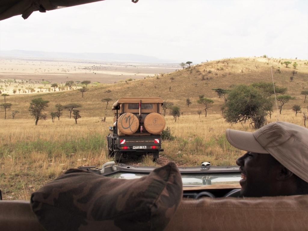 Peter vom One Nature Nyaruswiga Camp hat immer eine Überraschung parat.