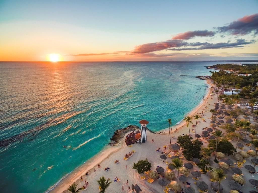 Highlights der Dominikanischen Republik: Strand in Bayahibe