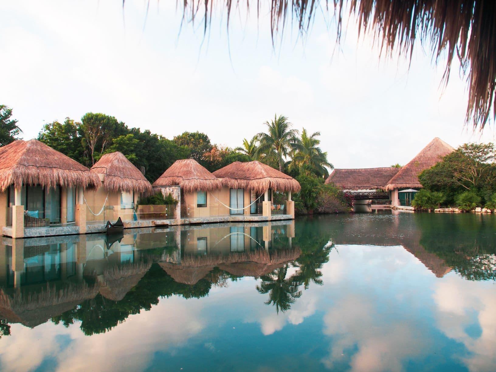 Hotelanlage in Yucatan