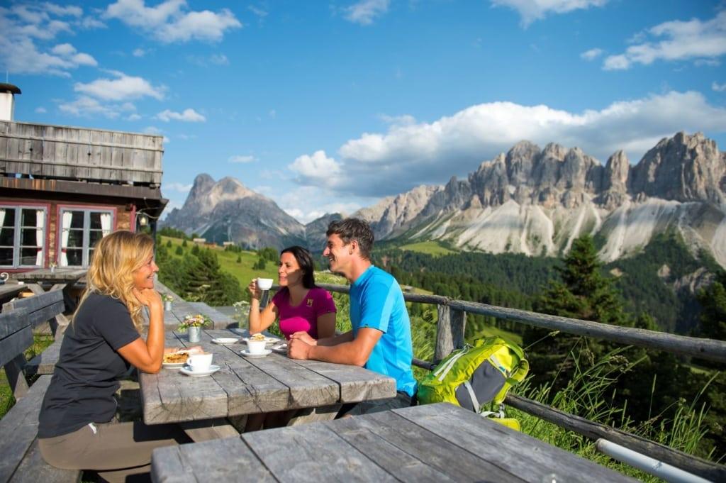 Schatzerhütte in Südtirol