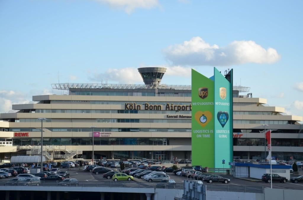 Terminal 1 des Flughafens Köln-Bonn