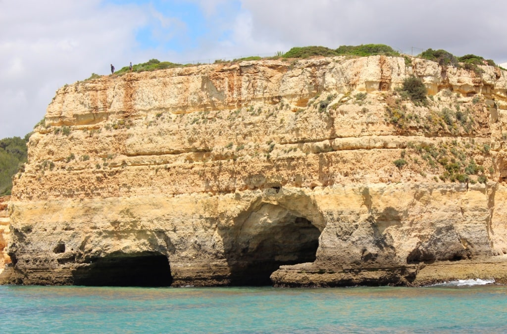 Wanderer an der Algarve