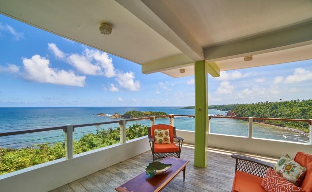 Terrasse im Wanderlust Carribean