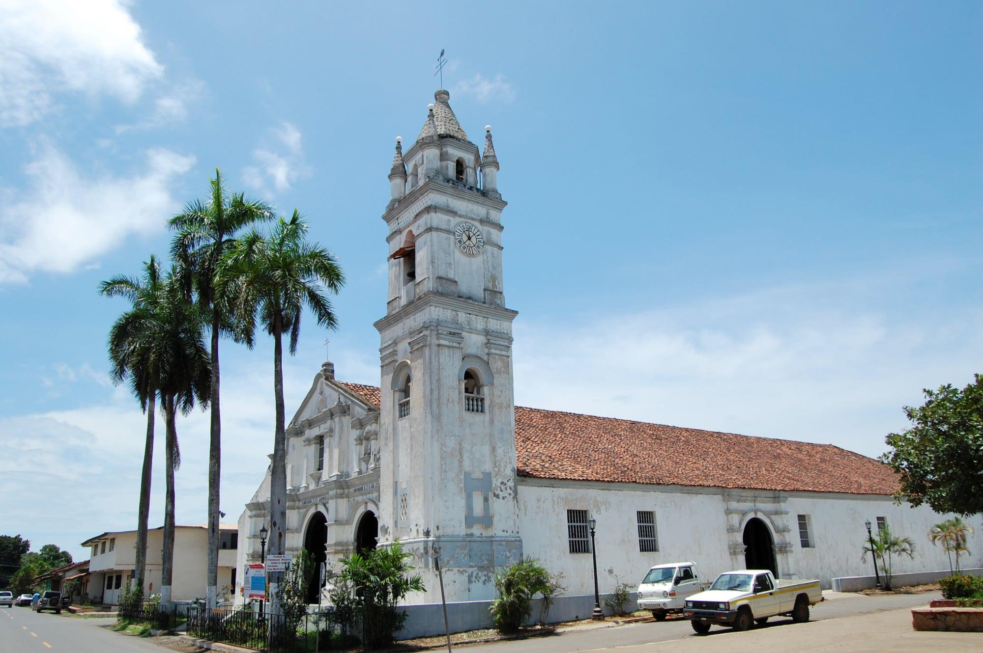 Kirche im Kolonialstil in Azuero, Panama