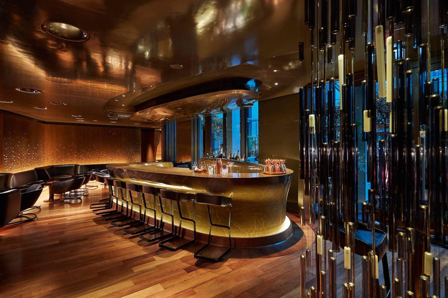 Bar 8 im Mandarin Oriental in Paris