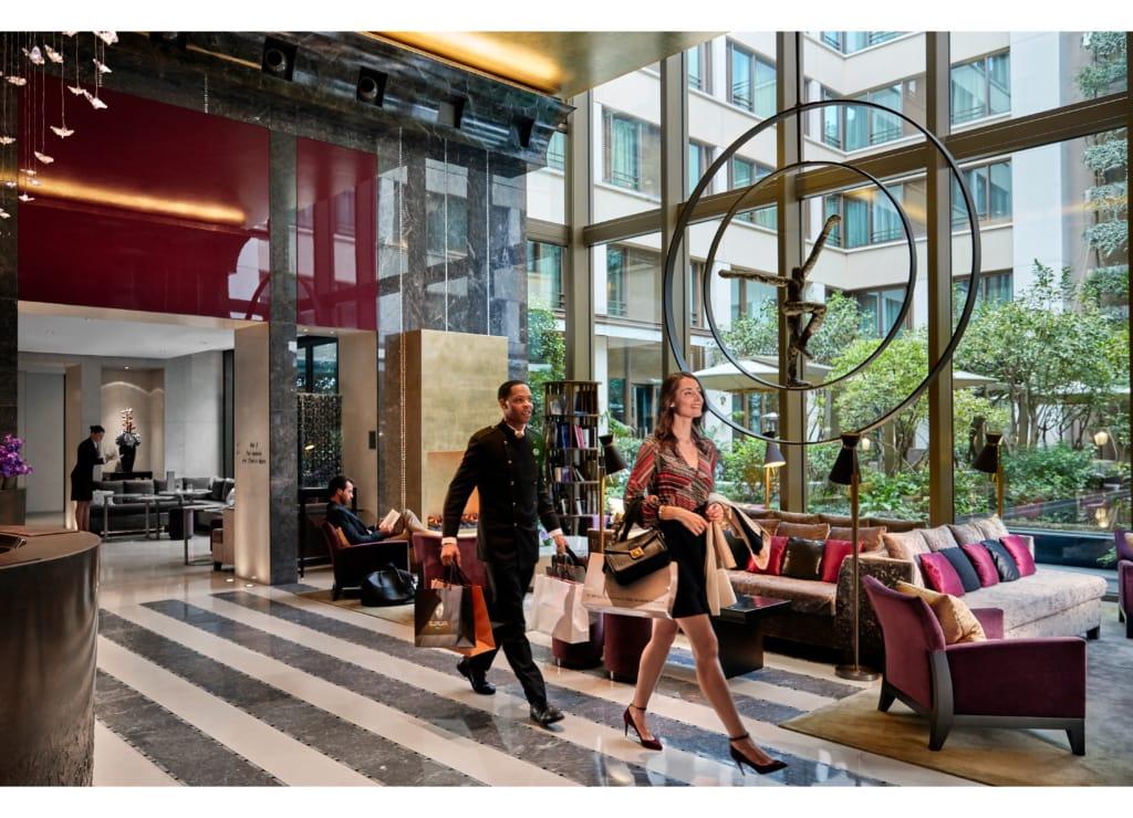 Lobby im Mandarin Oriental Paris