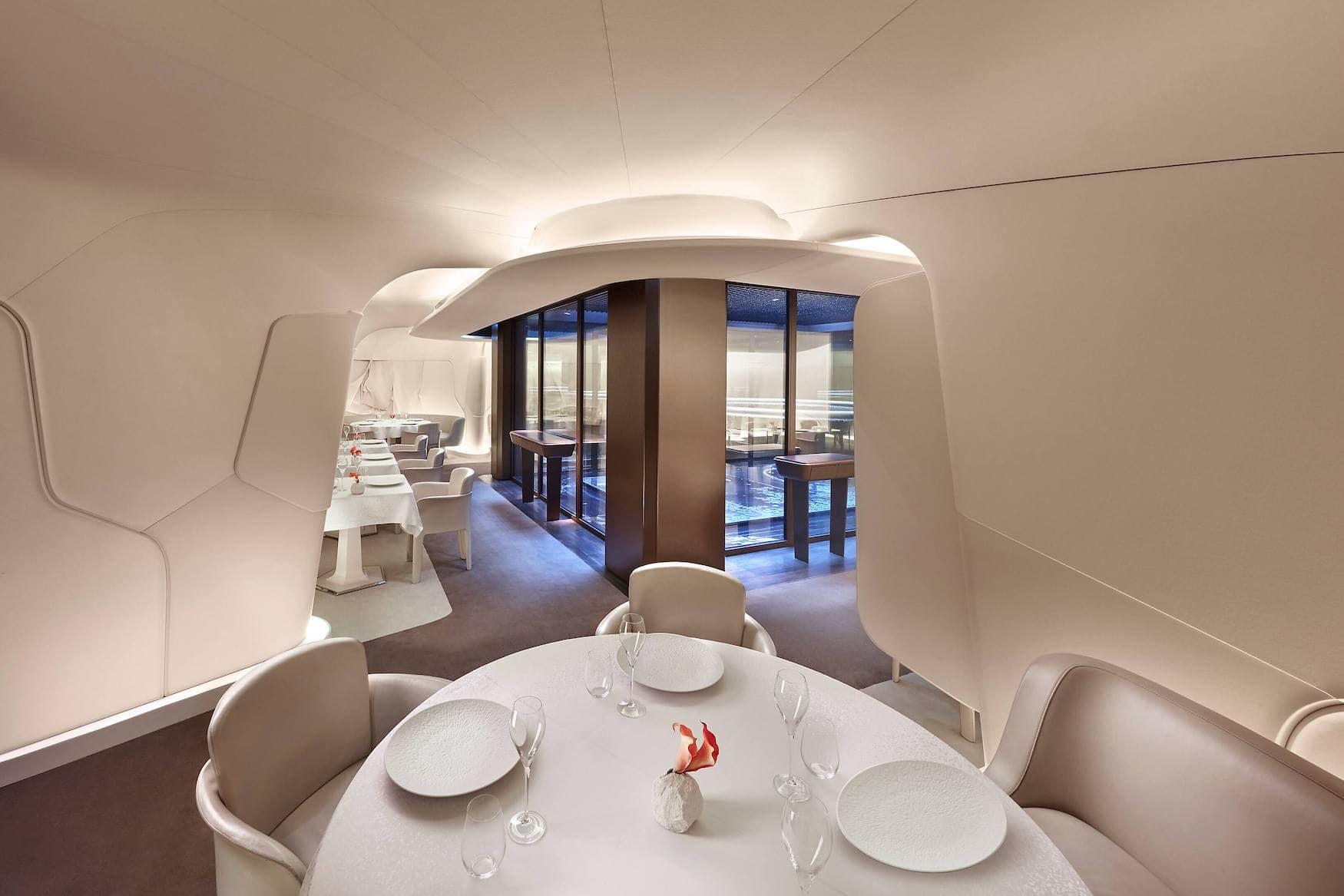 Sterneküche im Restaurant Sur Mesure par Thierry Marx