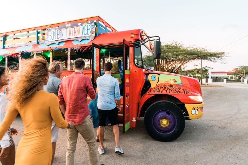Aruba Party Bus