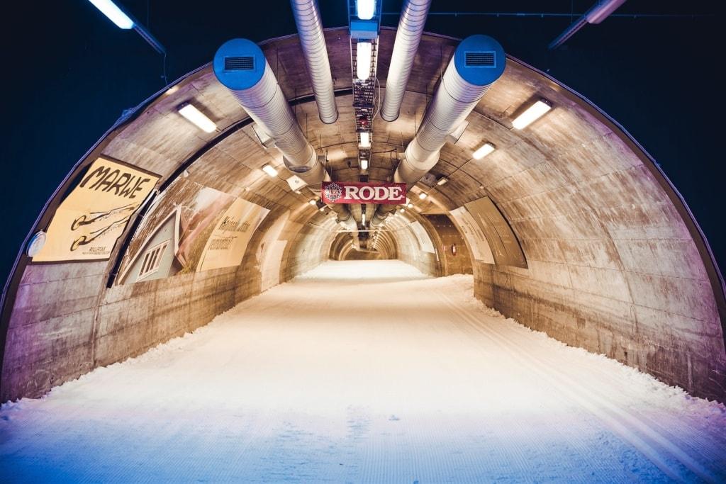 Skitunnel in Vuakatti