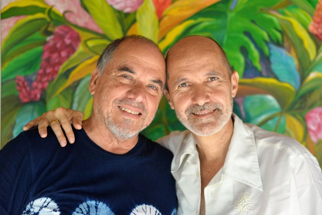 Besitzer des Hotel Los Almendros in El Salvador