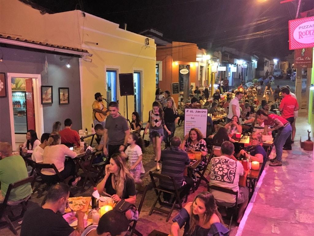 Restaurants in der R. Miguel Calmon in Lencois