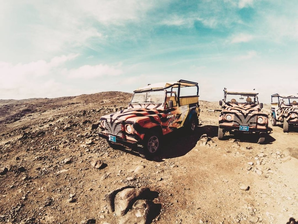 Jeep Tours auf Aruba