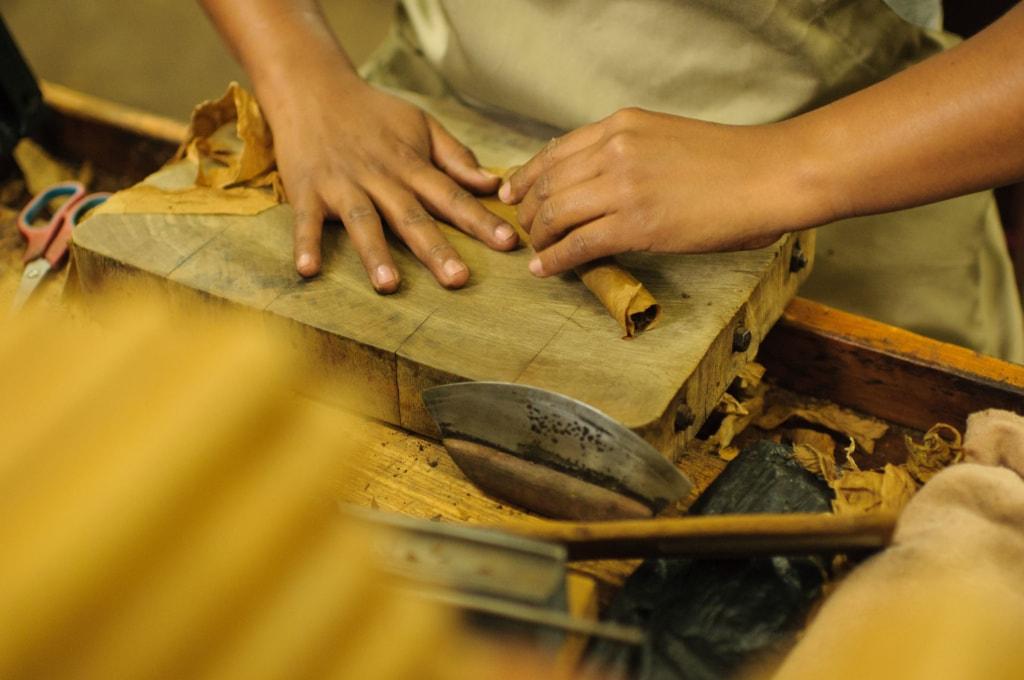 Handarbeit in der Joya de Nicaragua in Nicaragua
