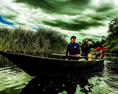 Kanufahrt Pantanal de Marimbus