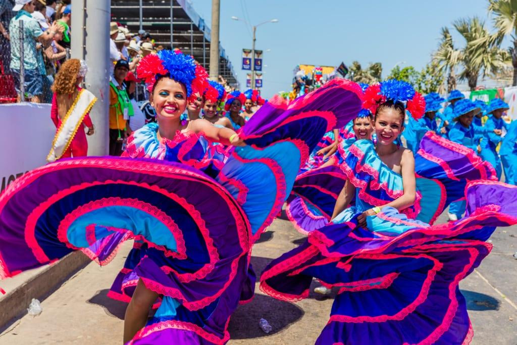 Barranquilla an der Karibik ist Kolumbien Karnevalshauptstadt.