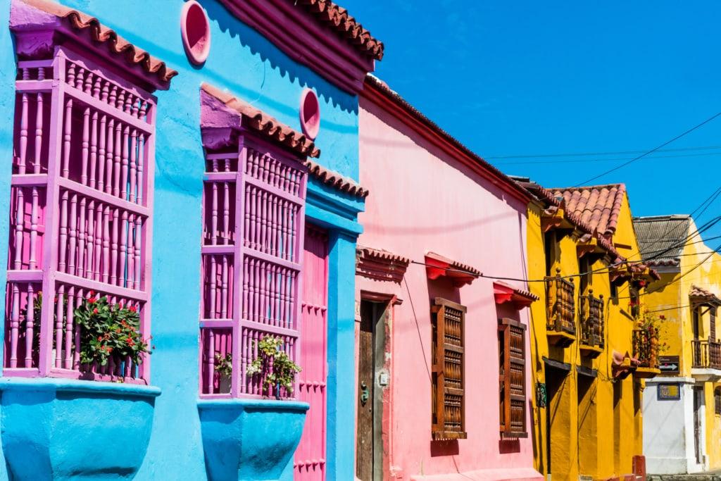 Cartagena im Norden von Kolumbien zählt zu den buntesten Städten der Welt – zu Recht!