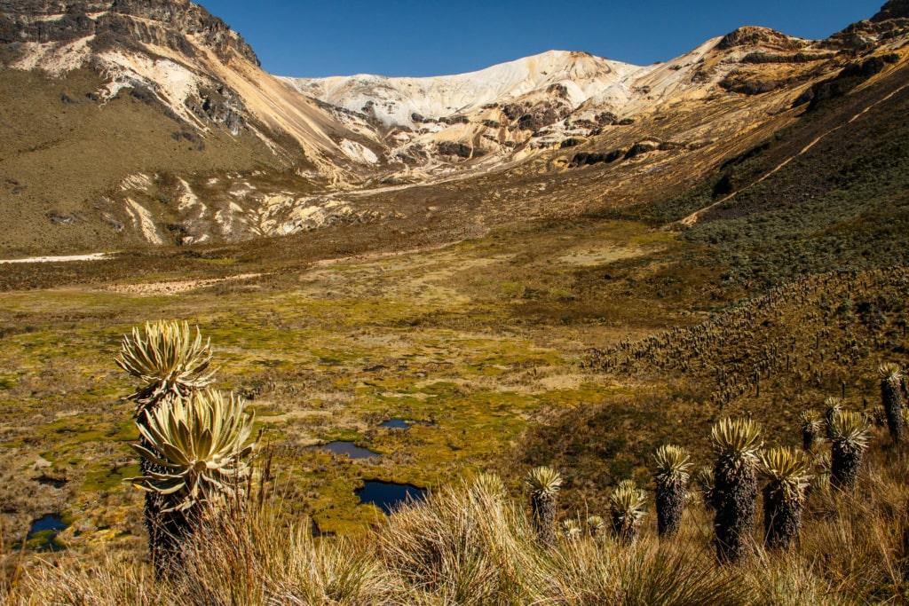 In Kolumbien gilt es einige der schönsten Vulkane Südamerikas zu bestaunen.