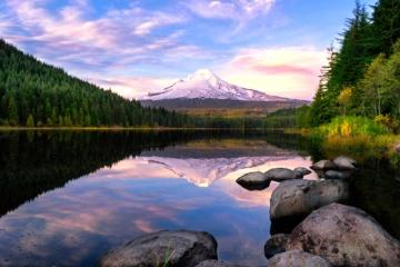 See und Berg in Oregon
