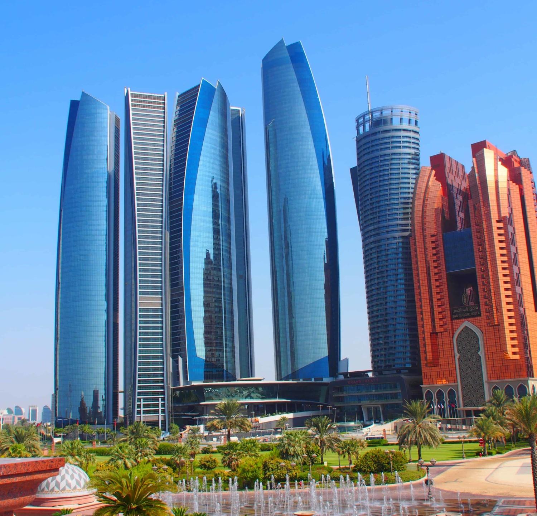 Wolkenkratzer von Abu Dhabi