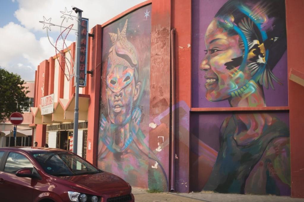 Tagesausflug auf Aruba: San Nicolas Street Art