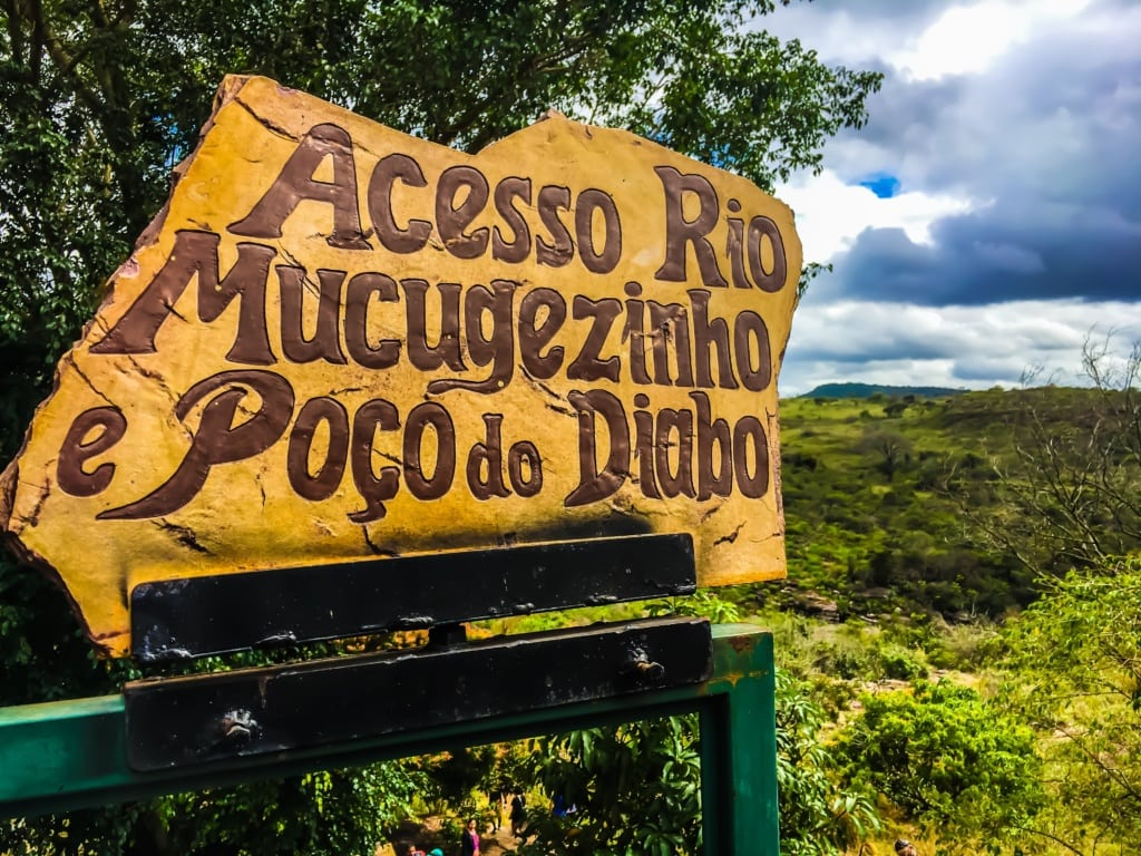 Acesso Poco do Diabo in der Chapada Diamantina
