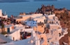 Touristen auf Santorin