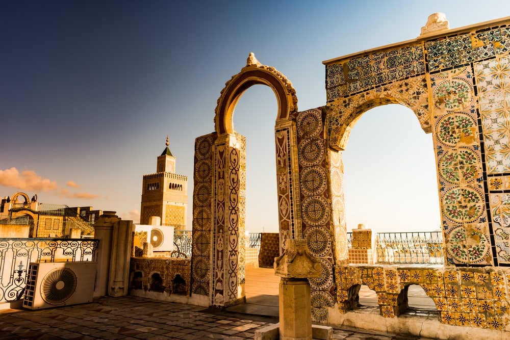 Architektur-Geschichte in Tunesien