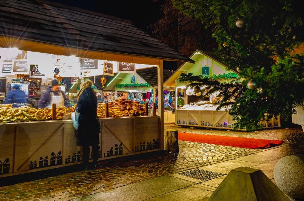 Weihnachtsmarkt in Turin