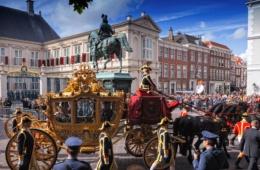 Zeremonie Prinsjesdag in Den Haag