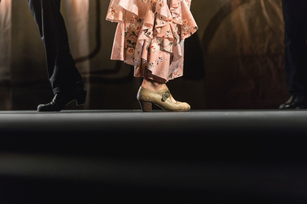 Flamenco-Tänzer,Füße