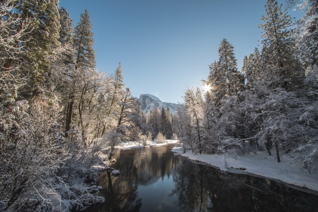 Winter im Yosemite National Park