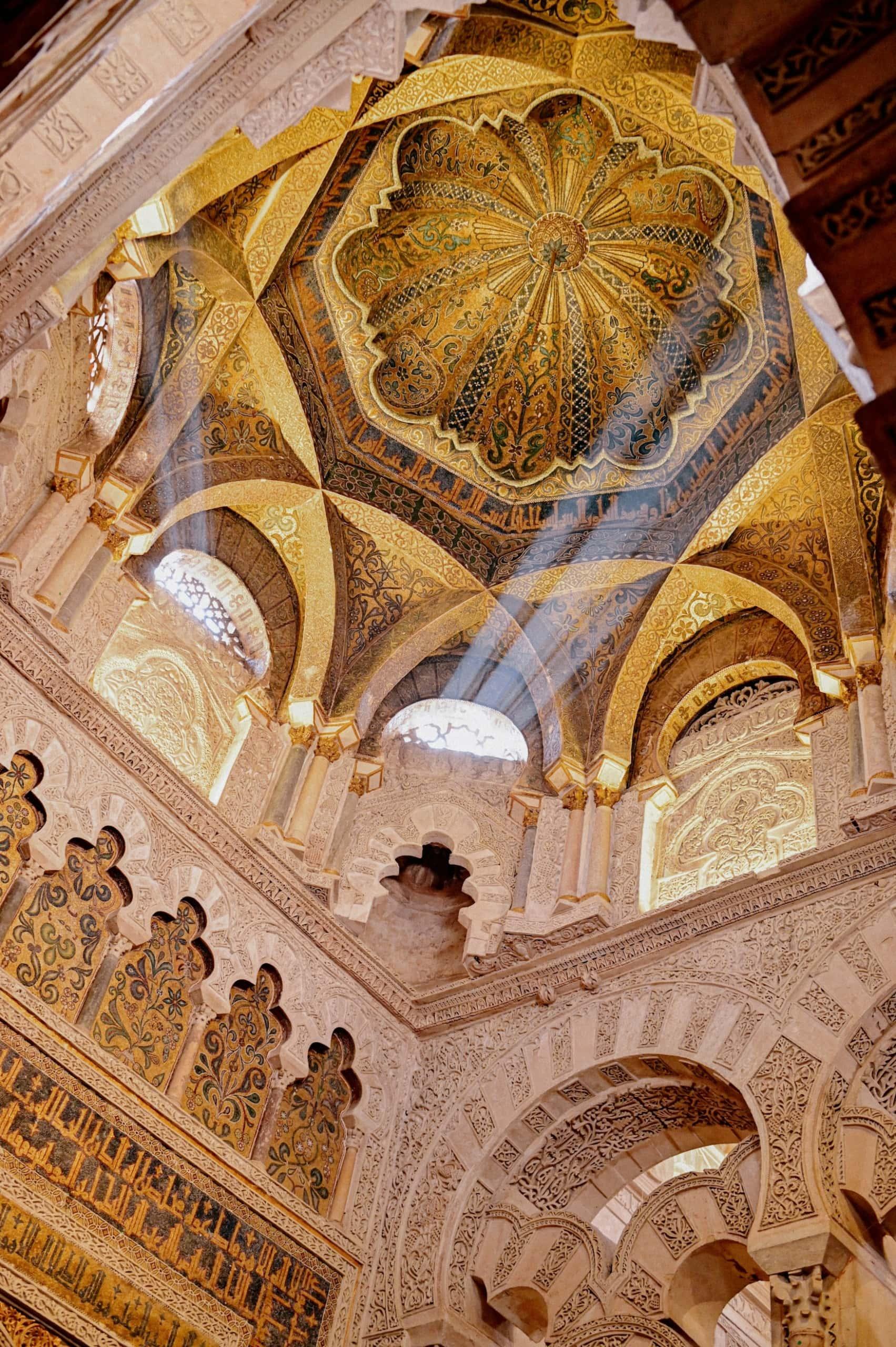 Das Innere der Mezquita Moschee in Córdoba