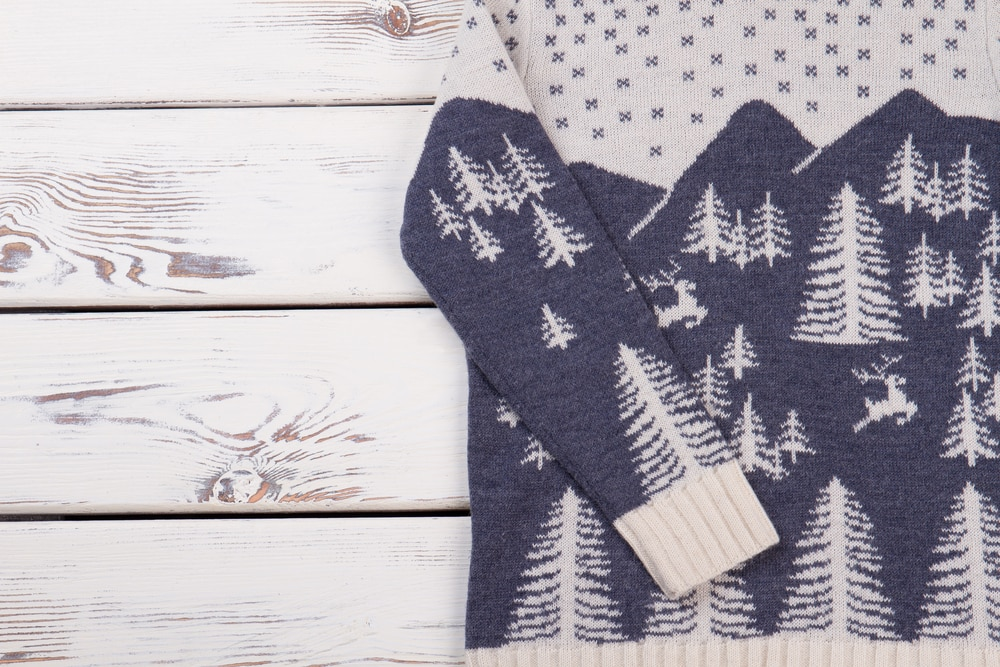 Pullover aus Norwegen