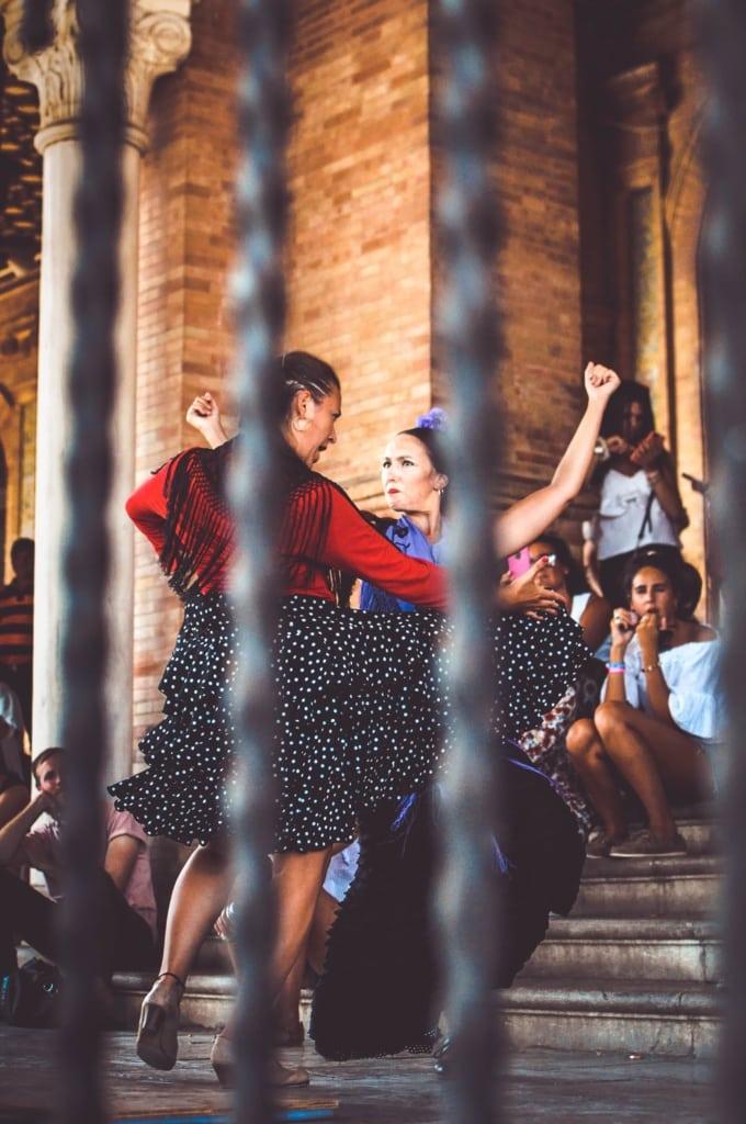 Flamengo-Tänzerinnen in Sevilla