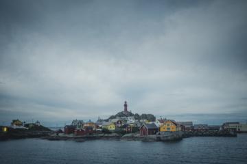 Ona ist eine winzige Insel in Norwegen - hier kommt man garantiert zur Ruhe.