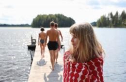 Sauna in Finnland