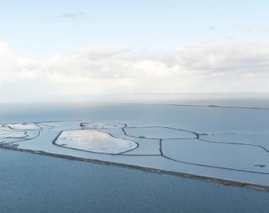 Nieuw Land Nationalpark aus der Vogelperspektive