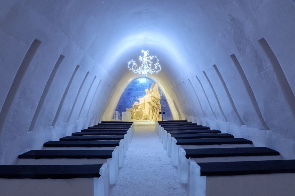 Snow Hotel in Kemi, Finnland