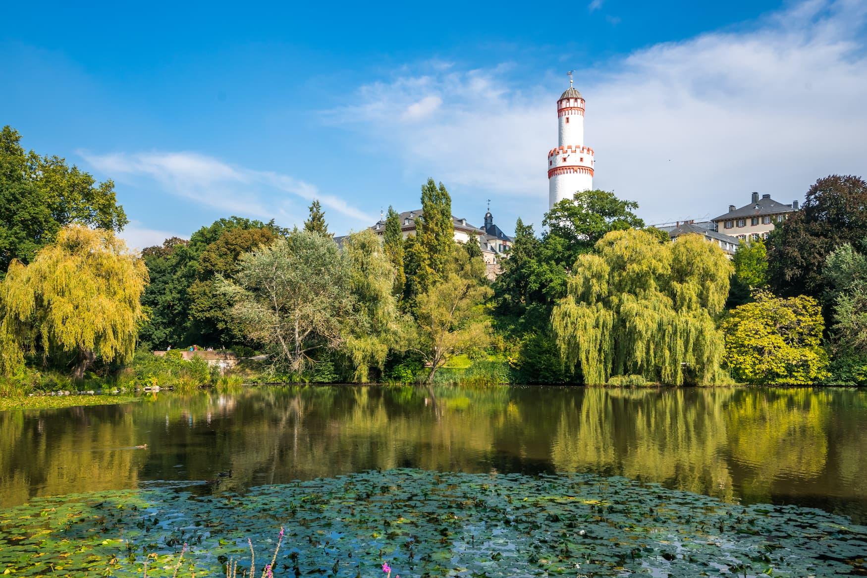 Schloss Bad Homburg Nahe Frankfurt