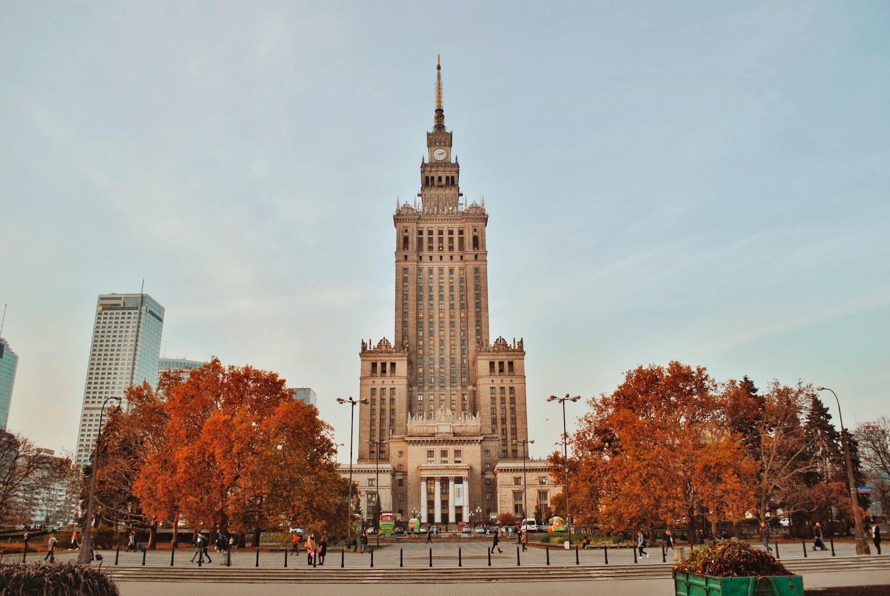 Palast der Kultur und Wissenschaft